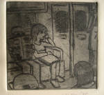 Untitled, Subway dry point