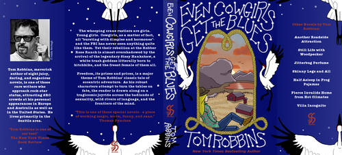 EvenCowgirlsGetTheBlues, Cover