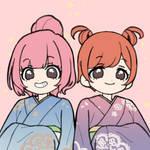 Kat and Ana kimono