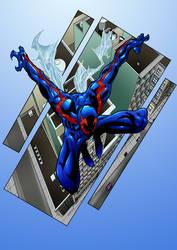 Spider-Man 2099  by marshinson