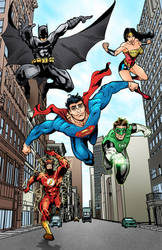 Justice League by marshinson