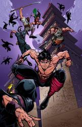 Ninjas! by marshinson