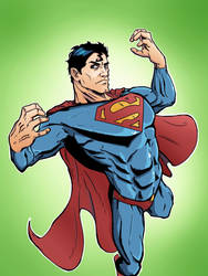 Superman  by marshinson
