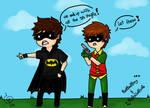BatBadBoy 'n' RuloGaRulo by FreakyWonderland