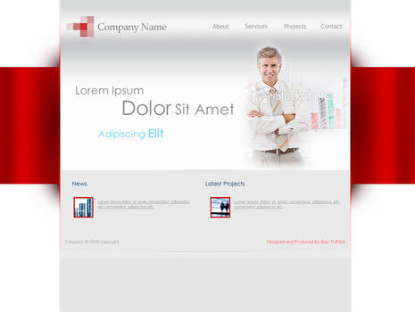 Financial Advisor Site Layout