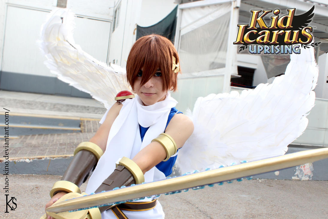 Pit Kid Icarus Uprising Cosplay By Neroxakita On Deviantart