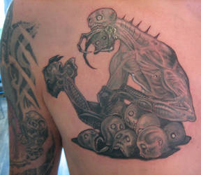 Head Eater Tattoo