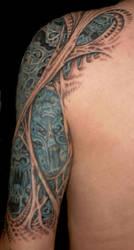 Morbid Tattoo Left Arm 4 by Jochen-SOD