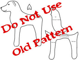 Simple Wolf/dog/fox Plush Pattern  - DO NOT USE - by BookThief17