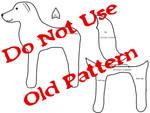 Simple Wolf/dog/fox Plush Pattern  - DO NOT USE -
