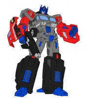 Classics Optimus Prime G2 COLORS by Wartator
