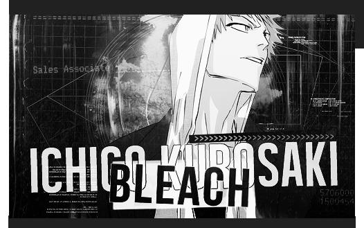 Bleach (Ichigo Kurosaki)  Signature by 0StarLights0