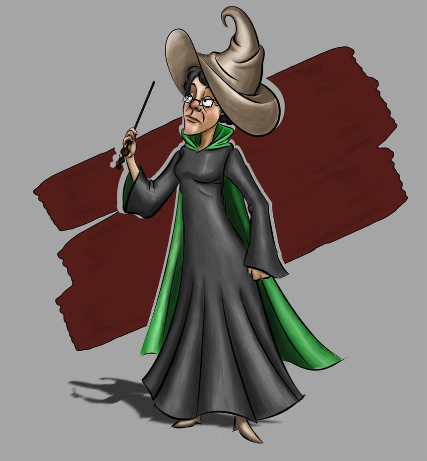 Minerva Mcgonagall by joeyfox7
