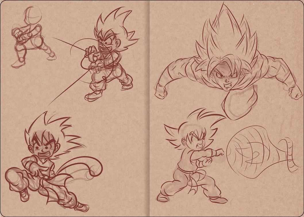 VSB Page 1 - Goku's Page by joeyfox7