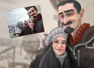 A Couple in Turkey