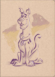 Cross Hatching Training #3 - Scooby-Doo