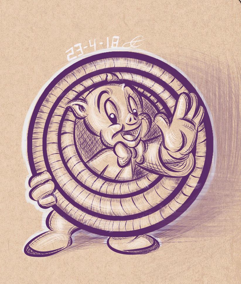 porky_pig___cross_hatching_study__4_by_j