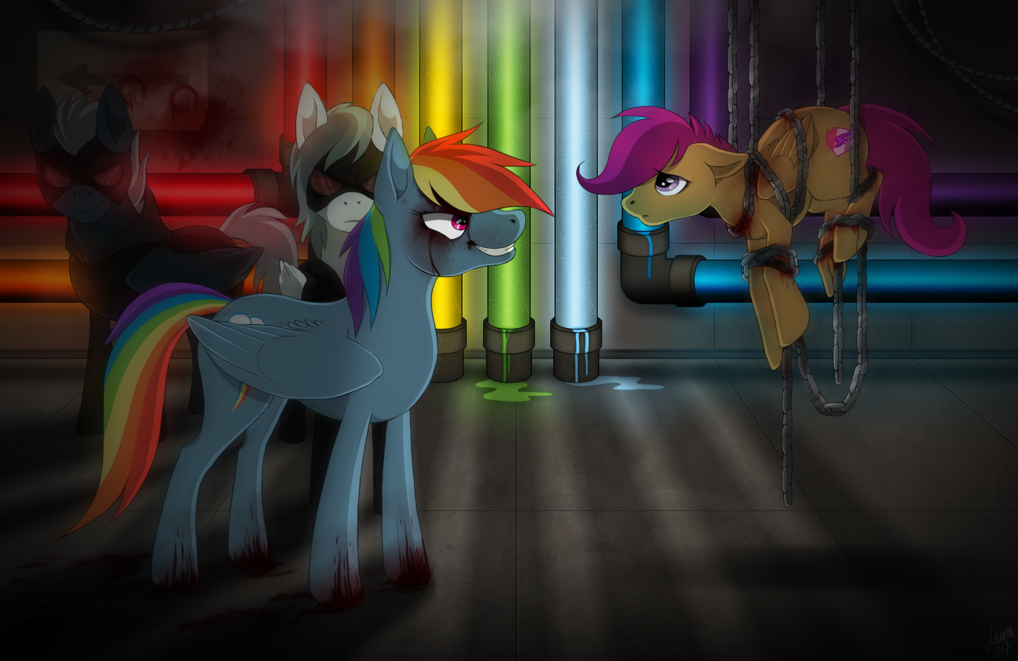 Rainbow Factory By Rookuna On DeviantArt