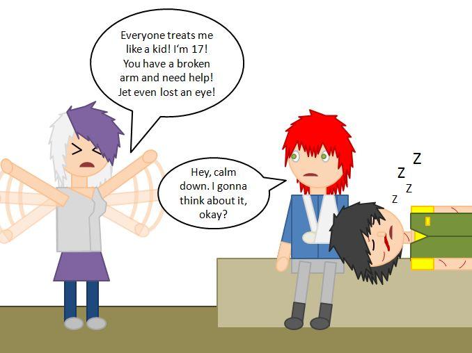 Killjoy Comic (Page 2) by ToxicSkeleton