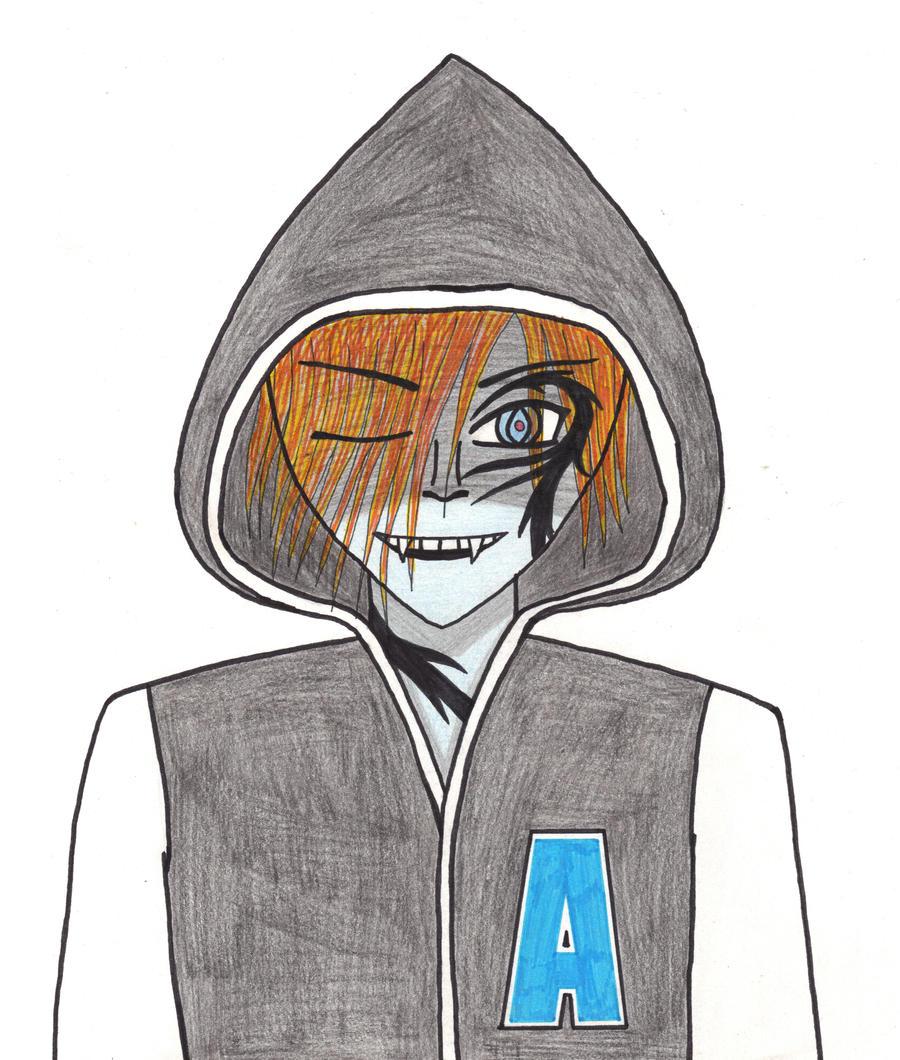 Akuma OC by ToxicSkeleton