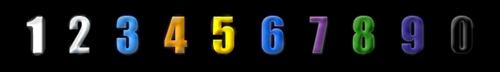 Number-Colors by FeralNoesis