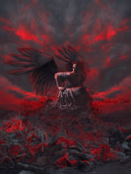 Angel of Chaos by Estela2013