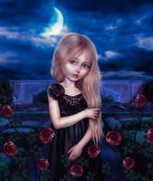 Moonlight Roses by Estela2013