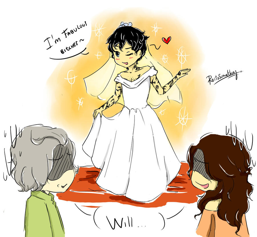 Will and the dress by RoItsSomething