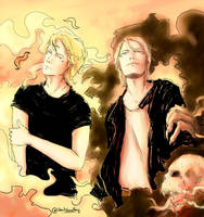 Fire ans Darks by RoItsSomething