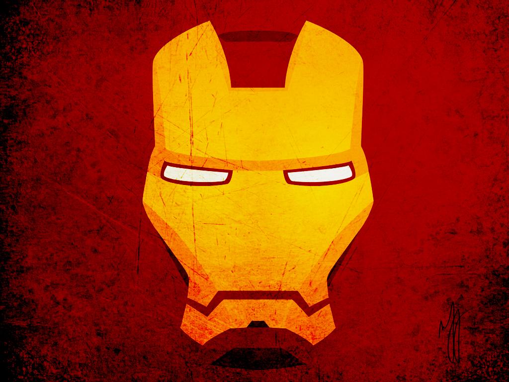 iron man face cartoon images
