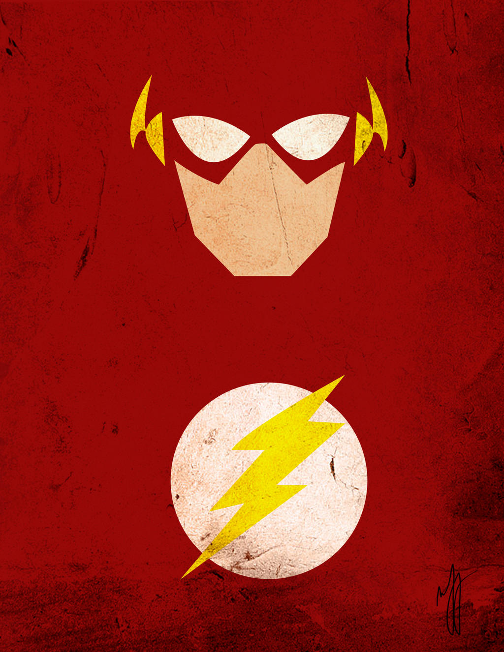 Minimalist art flash by chrynatsuki on deviantart for Minimal artiste