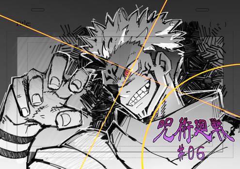 I participated in the Jujutsu Kaisen Ep06 !!