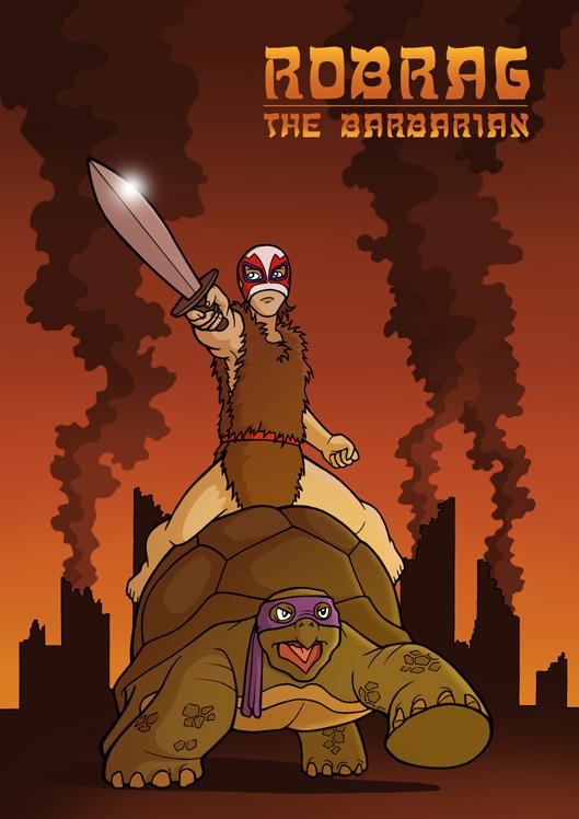 RobRag The Barbarian by fribergthorelli