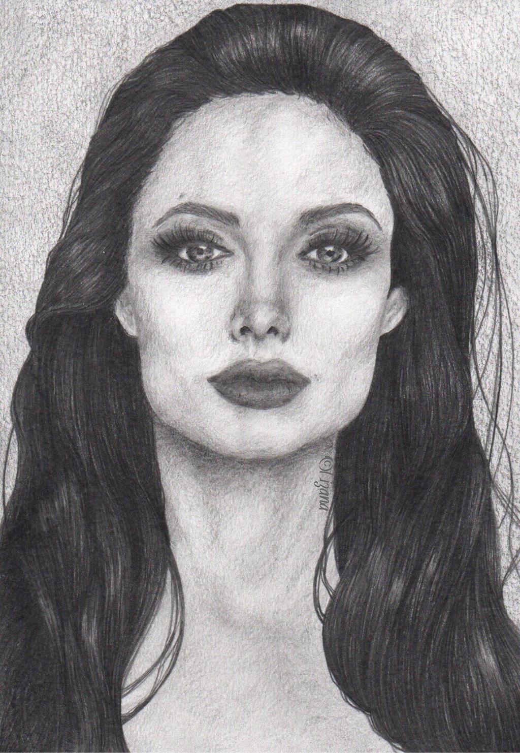 Angelina Jolie Portrait
