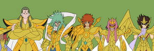 Gold Saints Omega by jimjimfuria1