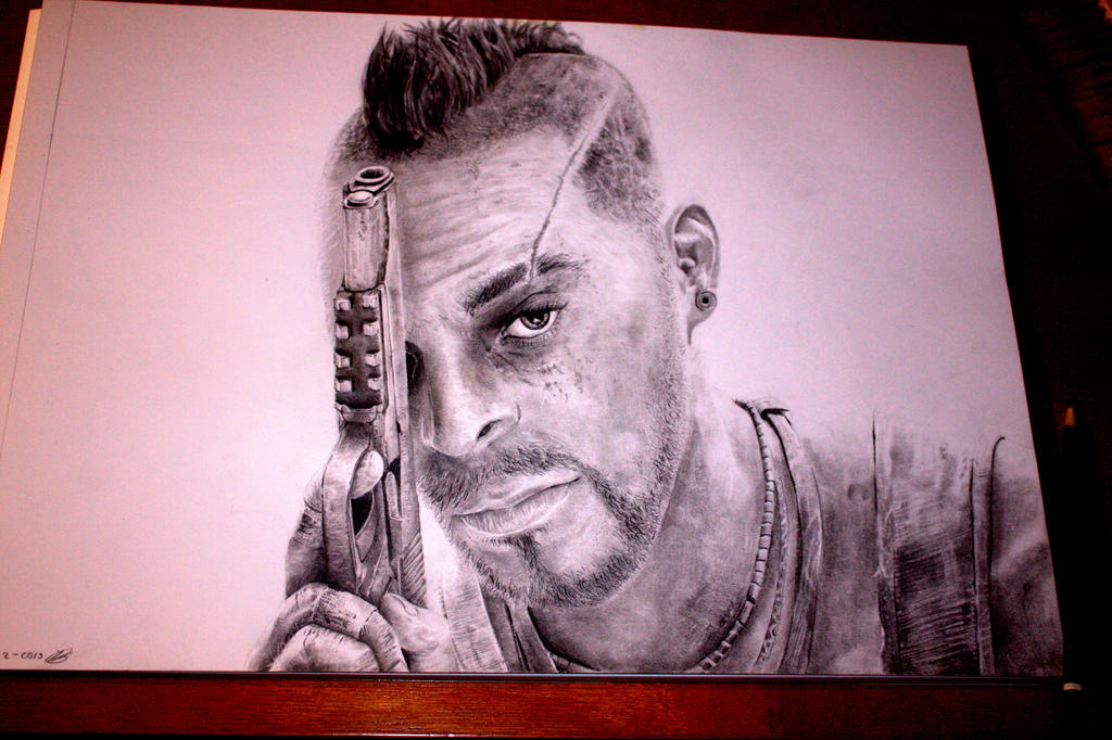 Drawing of Vaas from Far Cry 3 by SpiritOfsouls on DeviantArt