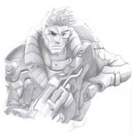 Jack Morrison Overwatch by Guildseal