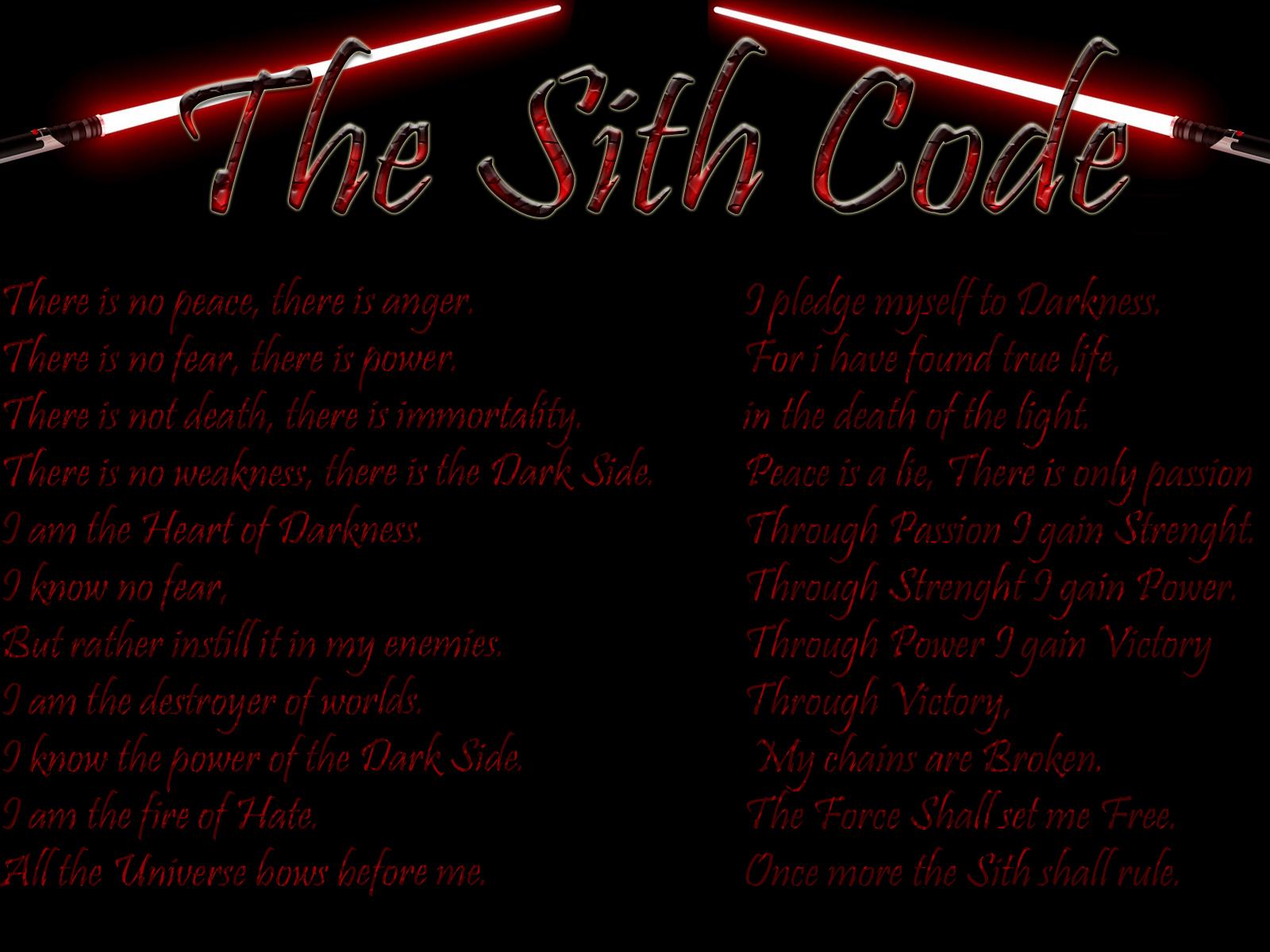 Sith Quotes. QuotesGram