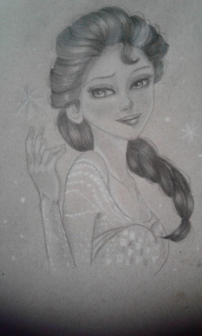 Elsa frozen by joyvane