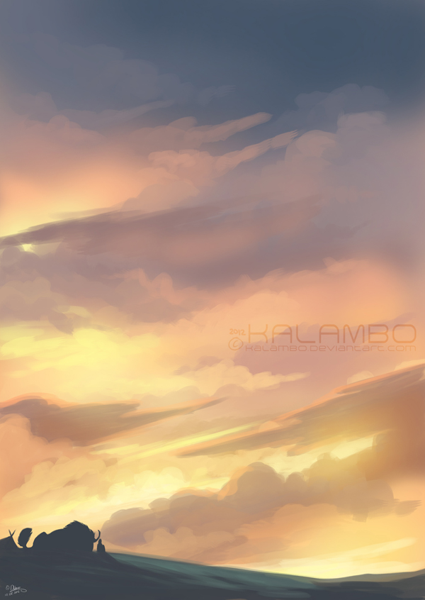 Sundown by kalambo
