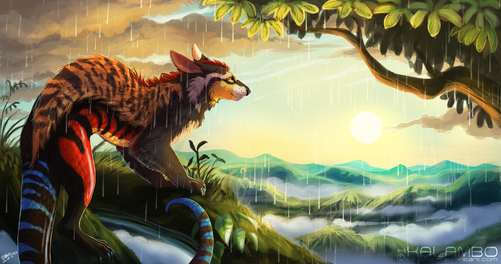 Tropical Sunshower by kalambo on DeviantArt # Sunshower Love_194845