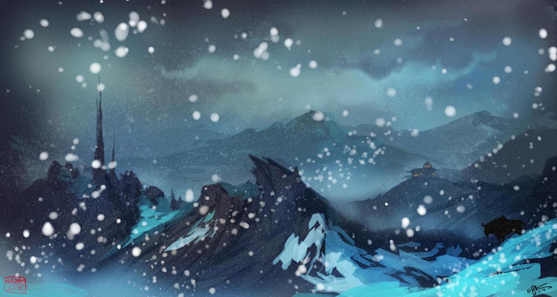 Glacier Drift by kalambo