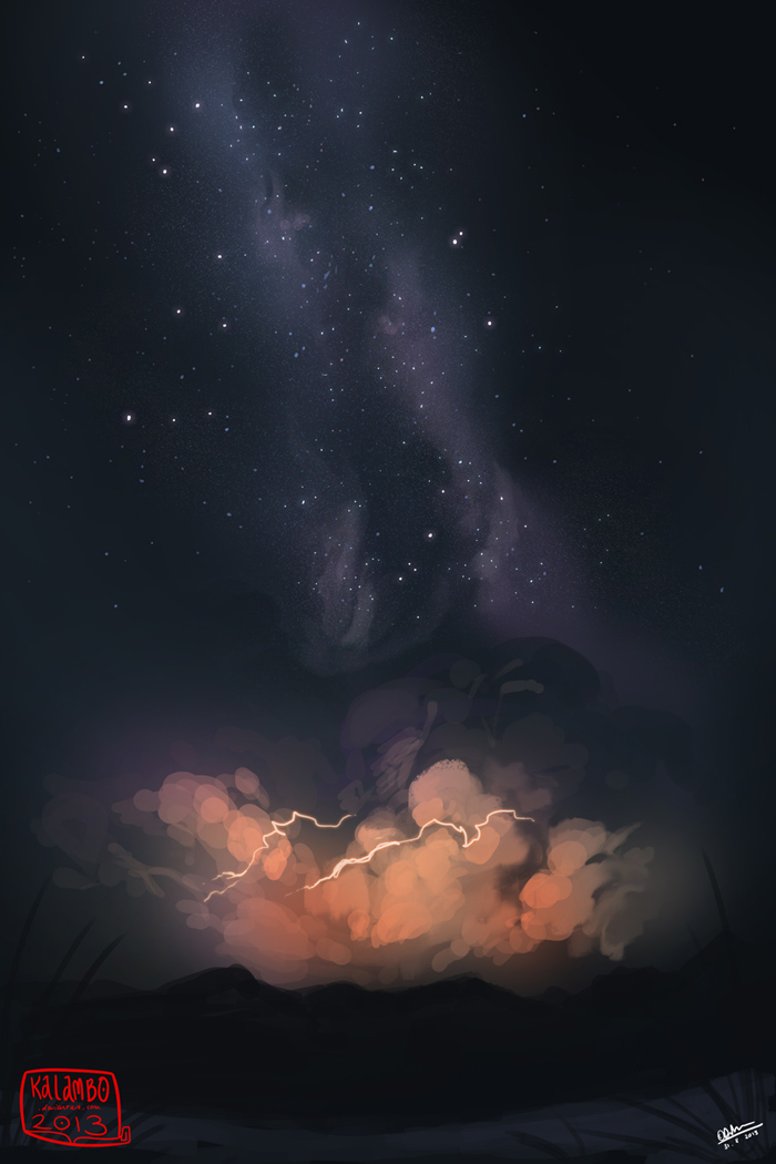 Lightning by kalambo
