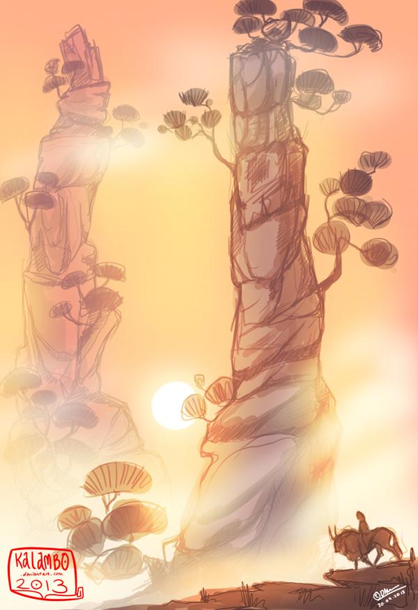 Pillars by kalambo