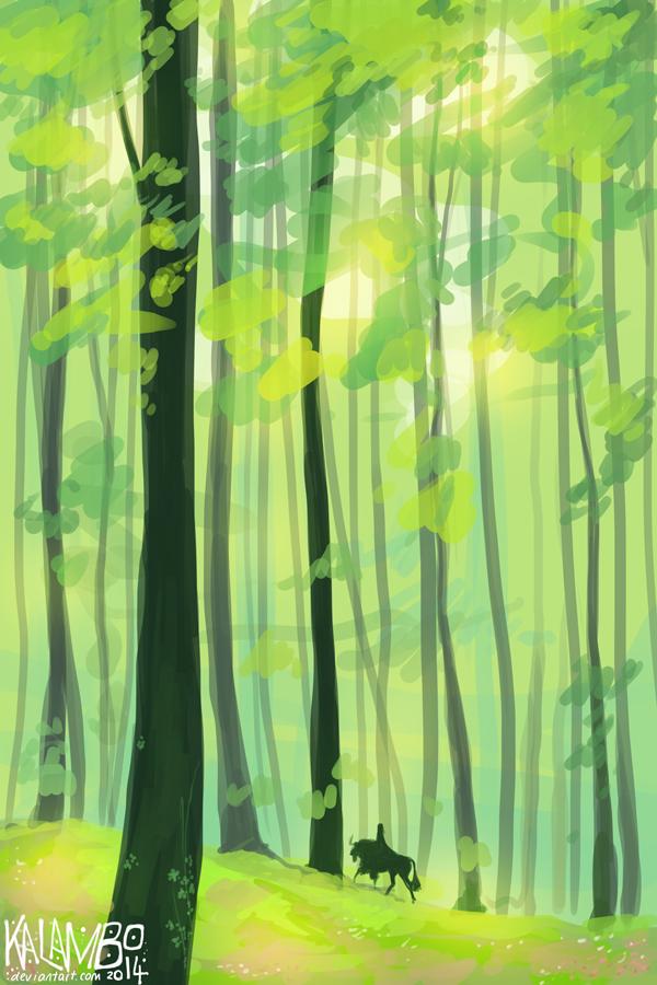 Leaves by kalambo