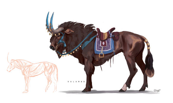 Traveller animal concept