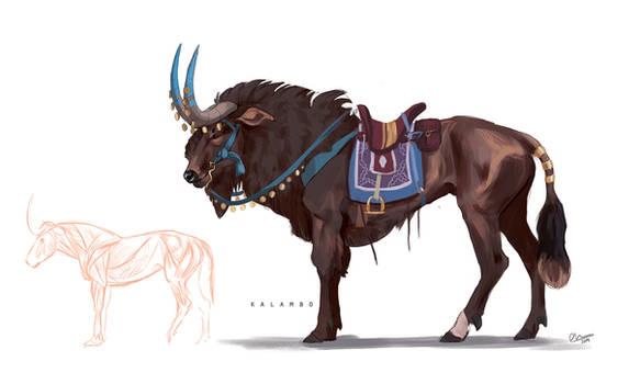 Traveller animal concept