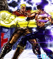 kenshiro vs falko by UD7S