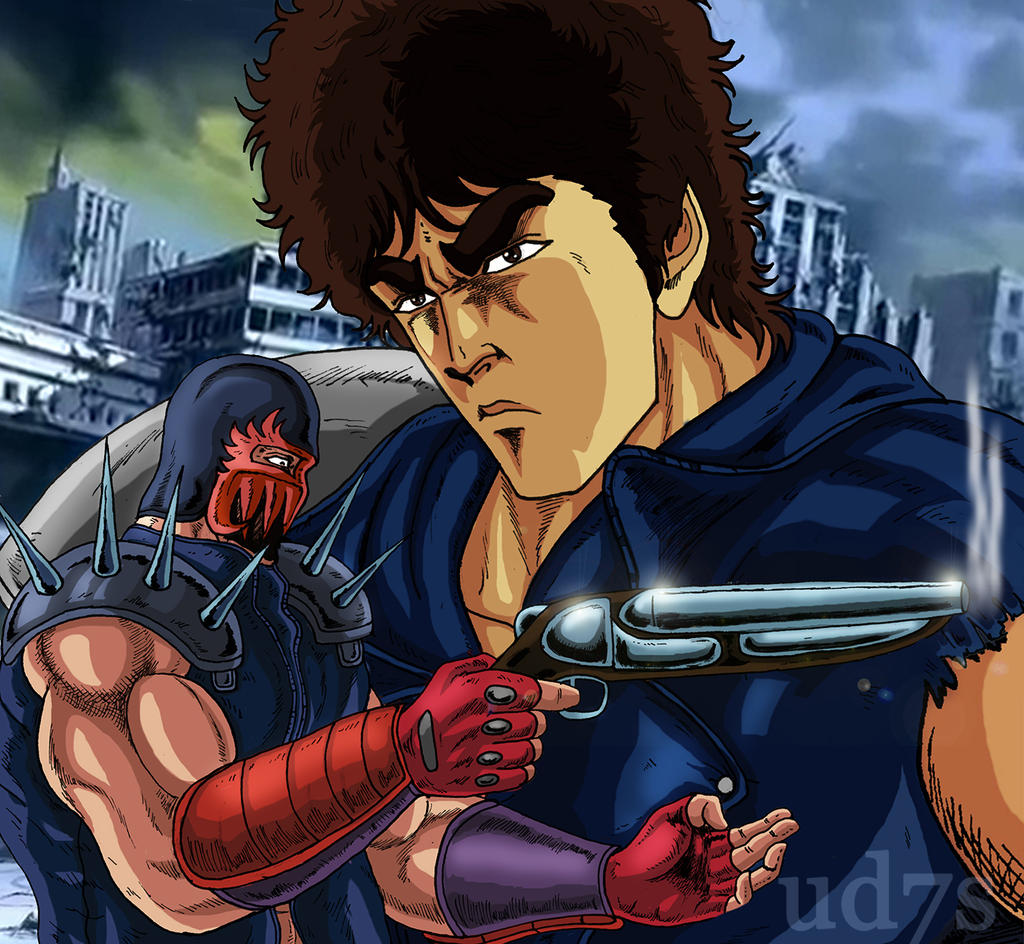 Kenshiro and Jagi by UD7S