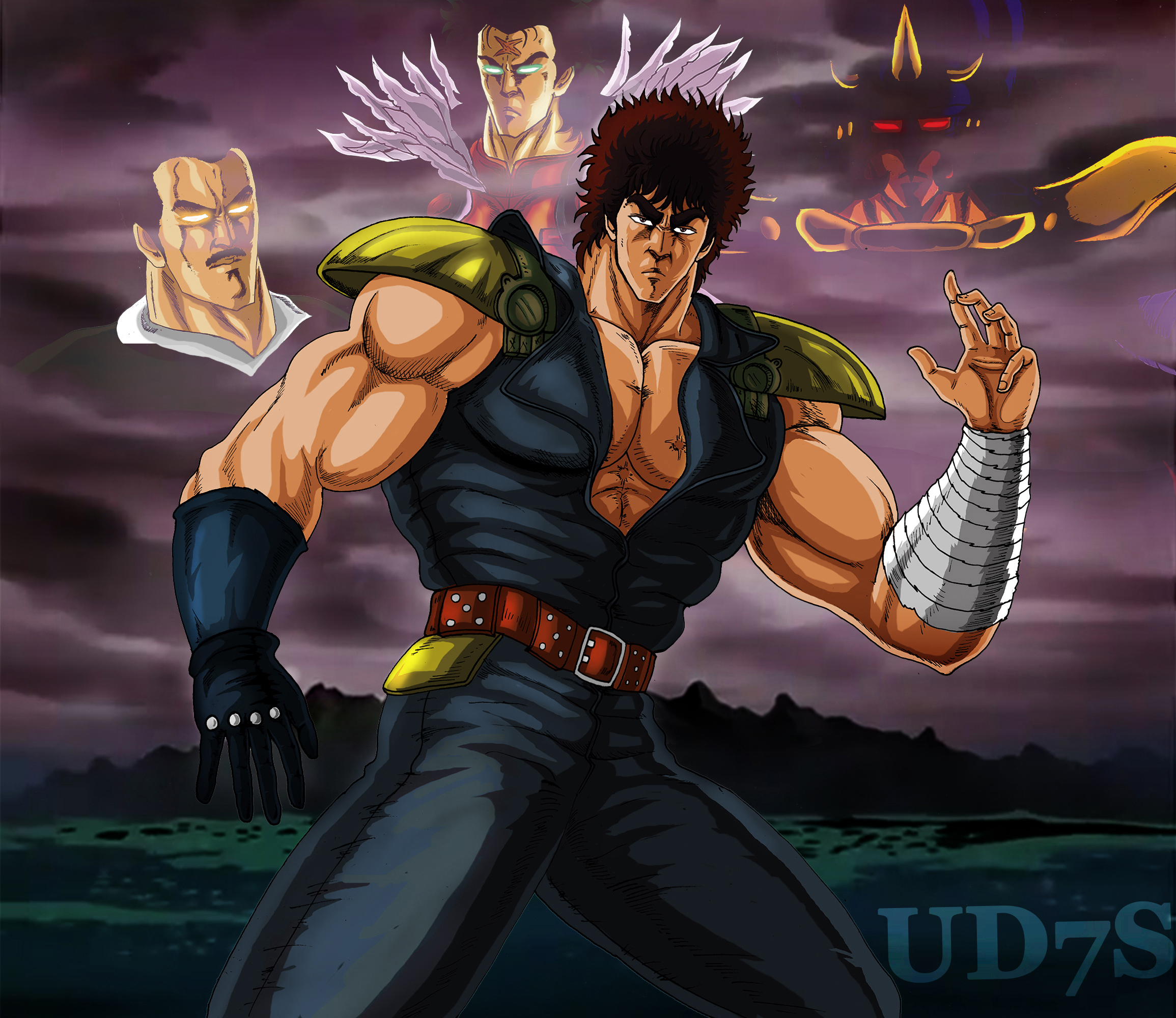 Hokuto No Ken / Fighting In The Nineties By UD7S On DeviantArt